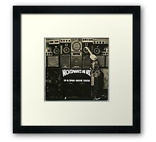 NIGHTMARES ON WAX IN A SPACE OUTTA SOUND Framed Print
