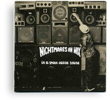 NIGHTMARES ON WAX IN A SPACE OUTTA SOUND Canvas Print