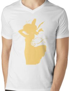 Nagisa Summer Dress Yellow - Clannad Mens V-Neck T-Shirt