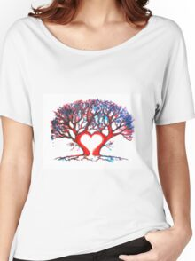 Loveheart Tree Women's Relaxed Fit T-Shirt