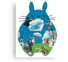 Ghibli - Miyazaki universe - Totoro Canvas Print