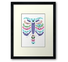 caracter animal Framed Print