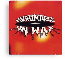 NIGHTMARES ON WAX LOGO Canvas Print