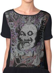 Grimes - Visions / Oblivion Tshirt Chiffon Top