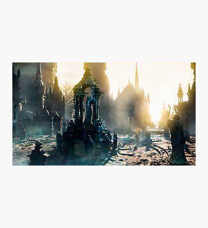 Light in the Dark - Bloodborne Photographic Print