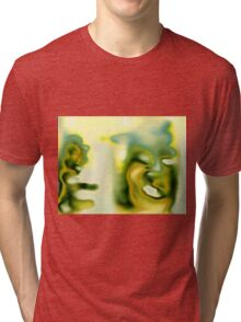 Super Squirrel & Man Dog Tri-blend T-Shirt