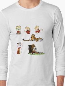 calvin_and_hobbes_all Long Sleeve T-Shirt