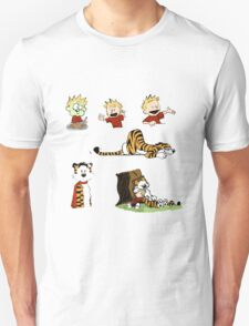 calvin_and_hobbes_all T-Shirt