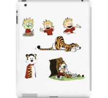 calvin_and_hobbes_all iPad Case/Skin
