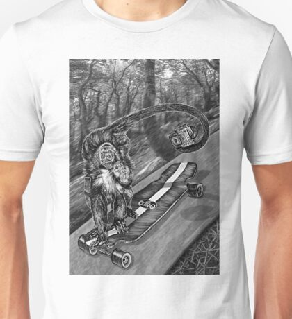 Simeon Skateboard Selfie Unisex T-Shirt