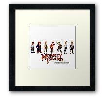 Monkey Island Guybrush - Puberty Edition  Framed Print