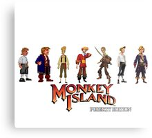 Monkey Island Guybrush - Puberty Edition  Metal Print