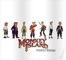 Monkey Island Guybrush - Puberty Edition  Poster