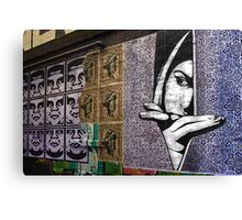 Watching - Graffiti Canvas Print