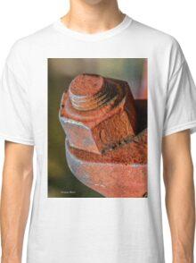 Industrial nut on bridge structure Classic T-Shirt