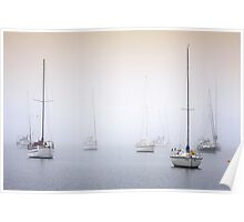Misty Bay - Corio Bay Poster