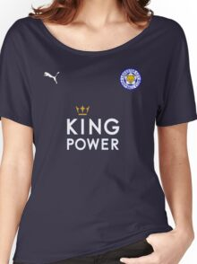 Leicester City F.C. Flag Women's Relaxed Fit T-Shirt
