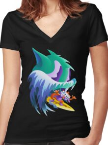 Congratulations by MGMT Women's Fitted V-Neck T-Shirt