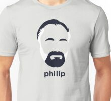 Philip K Dick (Hirsute History) Unisex T-Shirt