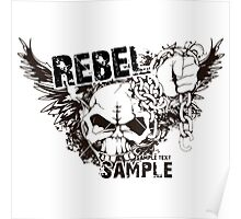 rebel sample text Poster
