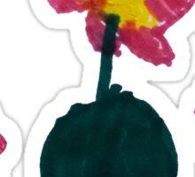 Kids Flowers Sticker