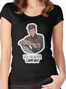 Keep Each Other COMPANY JB Women's Fitted Scoop T-Shirt