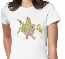 Phoebe, the Allen's Hummingbird 2 Womens Fitted T-Shirt
