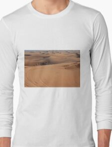 Sand dunes in the desert. Long Sleeve T-Shirt