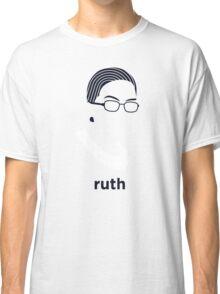 Ruth Bader Ginsburg (Hirsute History) Classic T-Shirt
