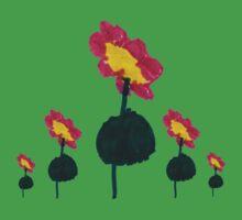 Kids Flowers Baby Tee