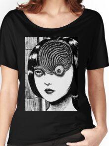 Uzumaki / Spiral - Junji Ito Tshirt (High Quality) Women's Relaxed Fit T-Shirt