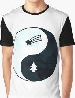 Gravity Falls Yin Yang Graphic T-Shirt