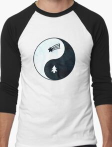 Gravity Falls Yin Yang Men's Baseball ¾ T-Shirt