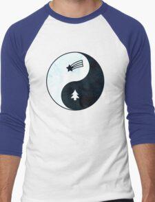 Gravity Falls Yin Yang Men's Baseball ¾ T-Shirt
