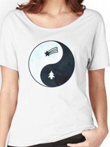 Gravity Falls Yin Yang Women's Relaxed Fit T-Shirt