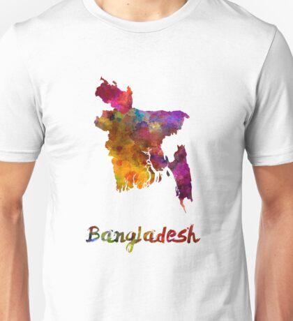 Bangladesh in watercolor Unisex T-Shirt