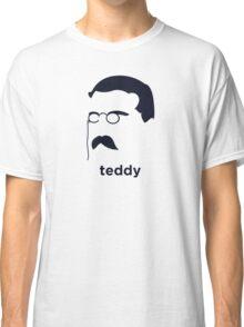 Teddy Roosevelt (Hirsute History) Classic T-Shirt