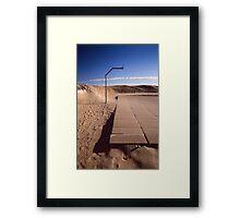 Hanged Framed Print