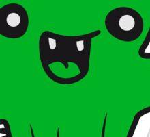 laughing face happy desert sweet cute little cactus comic cartoon baby child Sticker