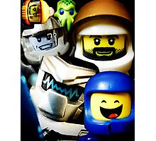 Lego Space has advanced over the years! Photographic Print