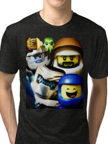 Lego Space has advanced over the years! Tri-blend T-Shirt
