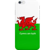 Cymru am byth (Wales For Ever) iPhone Case/Skin