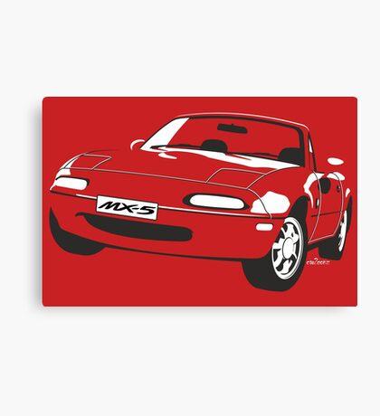 Mazda MX-5 Miata Canvas Print