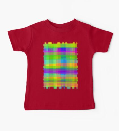 Psychedelic Fabric Texture Pattern Baby Tee