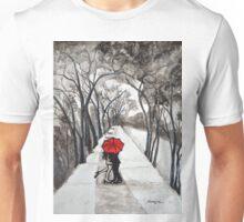 Snow Kiss Romantic painting  Unisex T-Shirt