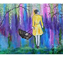 Spring Walk Abstract Landscape colorful vibrant Photographic Print