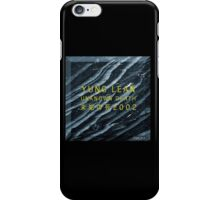 YUNG LEAN // SADBOYS // UNKNOWN DEATH 2002 TSHIRT (Highest Resolution on Site) iPhone Case/Skin