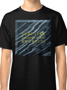 YUNG LEAN // SADBOYS // UNKNOWN DEATH 2002 TSHIRT (Highest Resolution on Site) Classic T-Shirt
