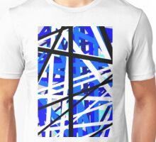 Blue reaction Unisex T-Shirt