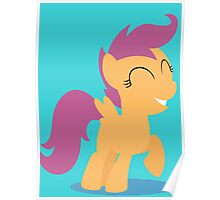 Small Horse Poster